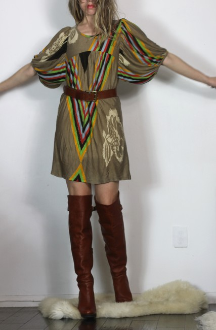 Orion London short dress Multicolor Pixie Market Puffed Sleeve T Shirt Free People Avant Garde on Tradesy