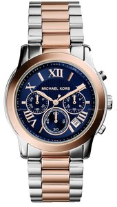 Michael Kors Michael Kors Cooper Chronograph Stainless Steel Watch - Rose Gold Tone MK6156