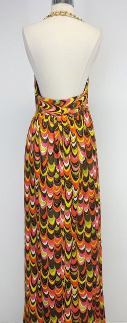 Maxi Dress by MILLY Print Silk Maxi