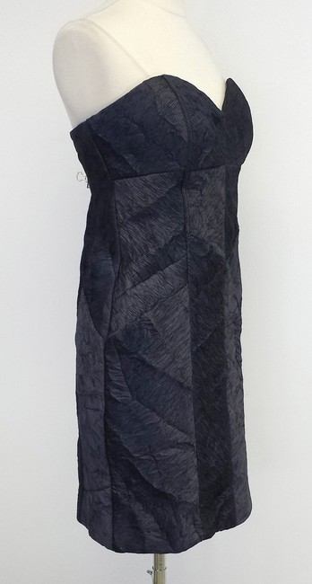 Nicole Miller short dress Textured Strapless on Tradesy