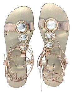 Twelfth St. by Cynthia Vincent Leather Flat Sandals