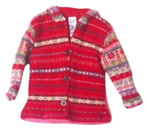 babyGap Baby Gap Lambswool Cable Knit Cardigan