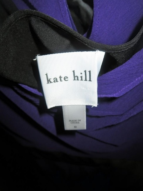 Kate Hill Silk Polyester Night Out Dress