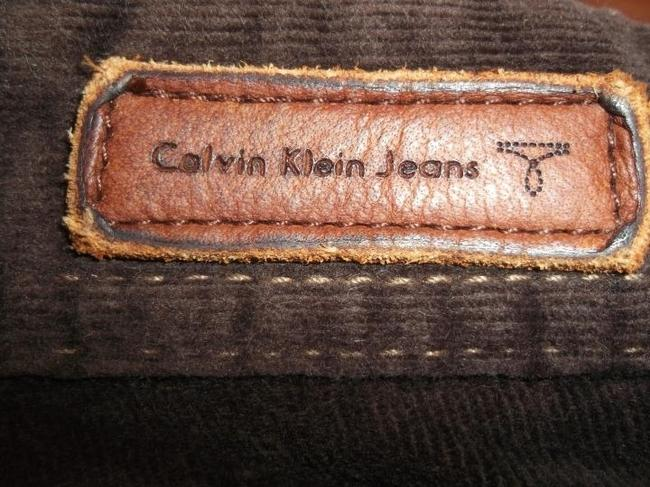 Calvin Klein Pants Coldoroy Mini Pants Size 4 Size S Capris brown