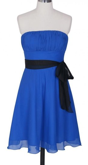 Preload https://img-static.tradesy.com/item/421594/blue-chiffon-pleated-bust-w-sash-sizesmall-formal-bridesmaidmob-dress-size-6-s-0-0-540-540.jpg