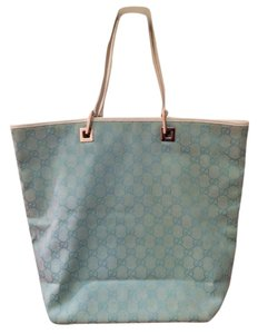 Gucci Tote in Teal Blue