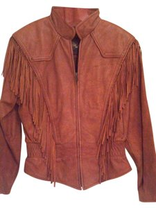 Adventurebound Leather Fringe Sienna Leather Jacket