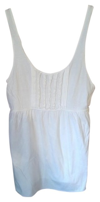 Preload https://item3.tradesy.com/images/merona-white-tank-topcami-size-8-m-421987-0-0.jpg?width=400&height=650