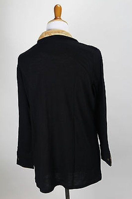 Alviero Martini 225 Dc5551132 Knit Womens Top Black
