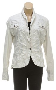 Twill Twenty Two Beige Womens Jean Jacket