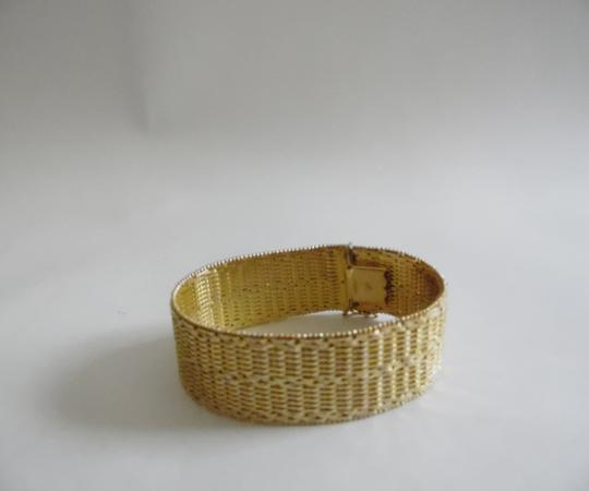 Veronese Collection Veronese(R) Collection 18kt Clad Woven Bracelet size 7 1/2