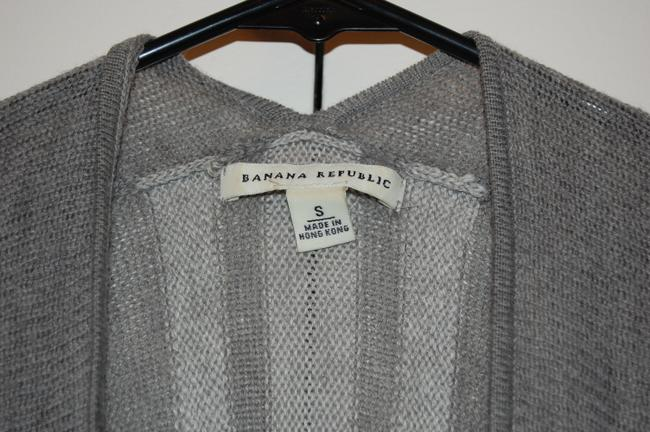 Banana Republic All Seasons Nice Lightweight Open Front Tie Front Womens Striped Sweater Cardigan