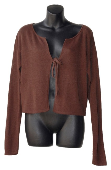Item - Brown Cardigan Size OS (one size)