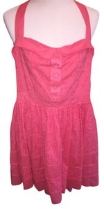 Miss Sixty short dress Coral Pink on Tradesy