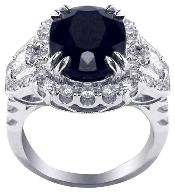 Ladies Sapphire and Diamond Fancy Cocktail Ring Ladies Sapphire and Diamond Fancy Cocktail Ring Image 1