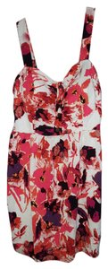 Charlotte Russe short dress pink,coral, purple, multi color on Tradesy