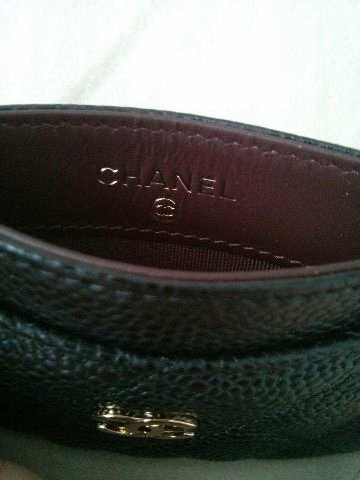 Chanel Black Business Card Holder - Tradesy