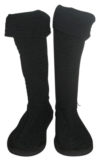 Preload https://item4.tradesy.com/images/black-crocheted-bootsbooties-size-us-8-regular-m-b-4232443-0-0.jpg?width=440&height=440
