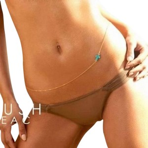 Other Gold Turquoise Bikini Body Charm