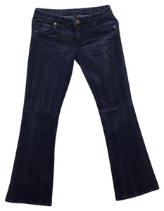 See Thru Soul Boot Cut Jeans