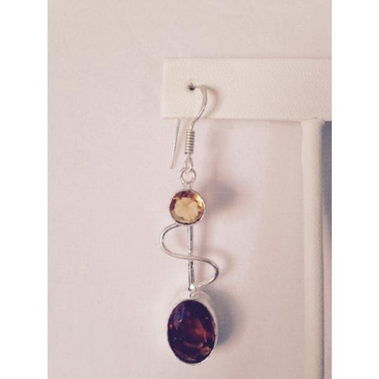 My Closet- Embellised by Leecia Embellished by Leecia Faceted Maderia Citrine In Sterling