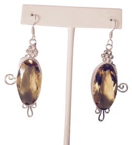 Other Faceted Lemon Citrine In Sterling