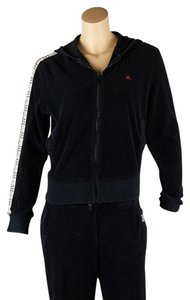 Burberry Burberry Black Cotton Pant Sweatsuit, Size M (45399)