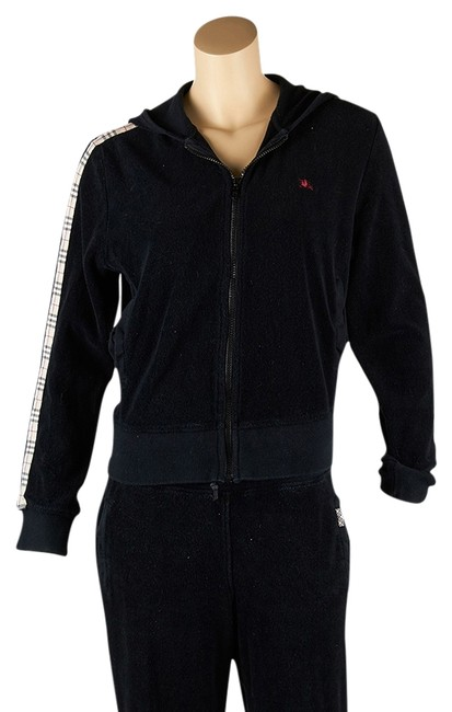 Preload https://img-static.tradesy.com/item/4233394/burberry-black-cotton-sweatsuit-45399-pant-suit-size-8-m-0-0-650-650.jpg