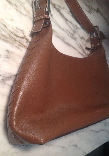 BCBGMAXAZRIA Bcbg Bcbg Pebbled Leather Shoulder Bag