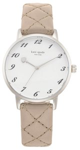 Kate Spade kate spade new york Women's Silver Analog Watch 1YRU0784