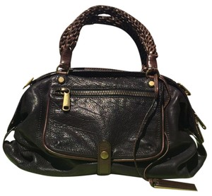 Joyce Gryson Satchel in Dark Brown