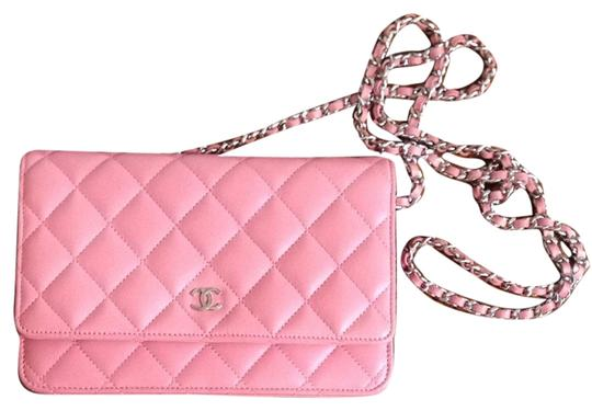 Chanel Chanel Quilted Wallet On A Chain