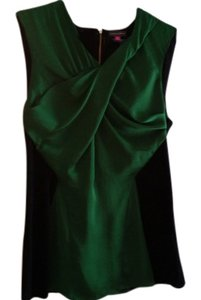 Vince Camuto Top Black/Green