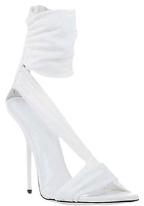 Versace Leather Sandal White Sandals