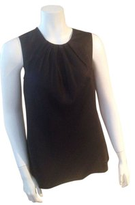 Talbots Silk Top Black