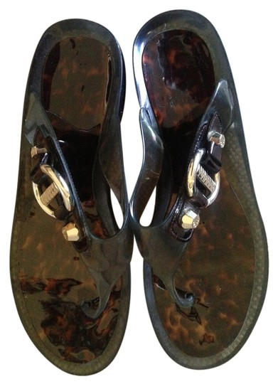 Preload https://item2.tradesy.com/images/stuart-weitzman-tourtoise-shell-and-gray-sandals-size-us-10-4234981-0-0.jpg?width=440&height=440