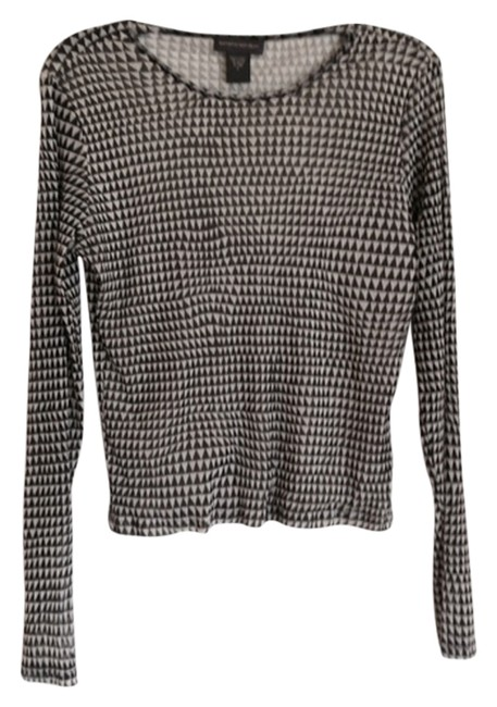 Preload https://img-static.tradesy.com/item/4234993/banana-republic-black-and-tan-shirt-night-out-top-size-12-l-0-0-650-650.jpg