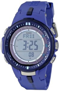 Casio Casio PRW-3000-2BCR Men's Blue Watch With Digital Dial