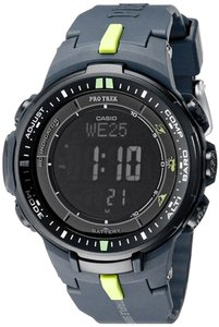 Casio Casio PRW-3000-2CR Men's Black Digital Watch With Black Dial