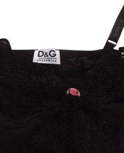 Dolce&Gabbana D&g D&g D&g Dolce And Gabbana Top Black