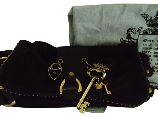 Juicy Couture Never Been Used Trendy BROWN Clutch