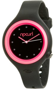 Rip Curl Rip Curl Women's A2372G-BLP Aurora Black and Pink Polyurethane Watch
