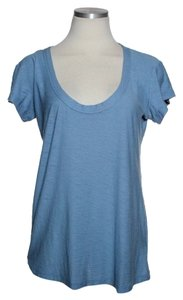 James Perse Soft Short Sleeve T Shirt Blue