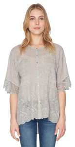 Johnny Was Embroidered Crochet Tunic