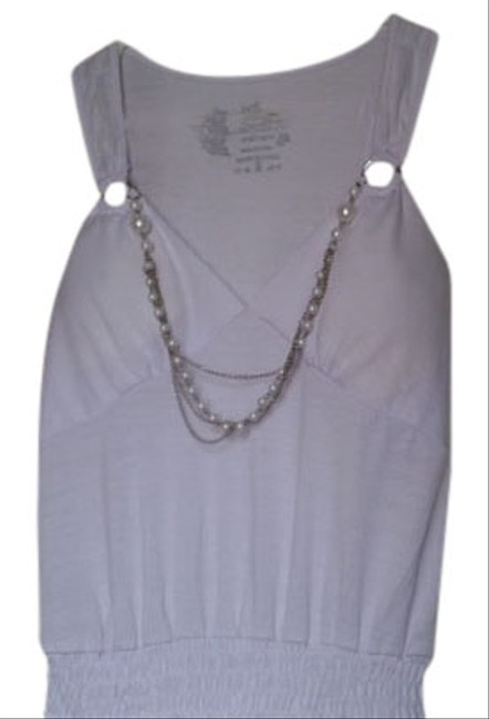 Preload https://item2.tradesy.com/images/connection-18-tank-top-white-4236676-0-0.jpg?width=400&height=650