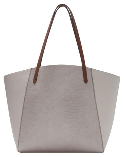 Item - 4437/004 White / Off White Tote