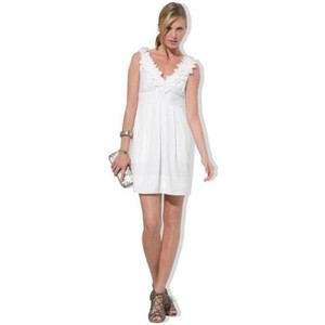 BCBGMAXAZRIA White Kerry Dress