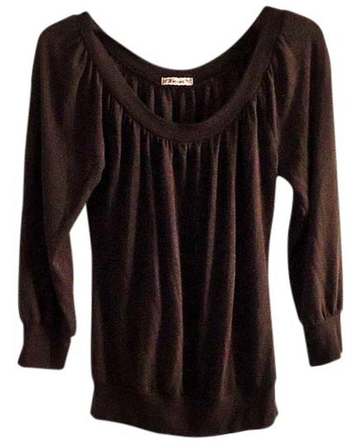 Preload https://item1.tradesy.com/images/forever-yours-brown-sweaterpullover-size-8-m-4236805-0-0.jpg?width=400&height=650