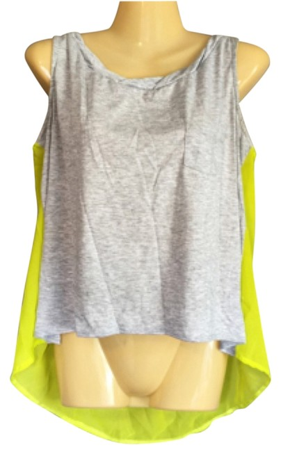 Preload https://item2.tradesy.com/images/wurl-tank-top-grey-and-green-4236841-0-0.jpg?width=400&height=650