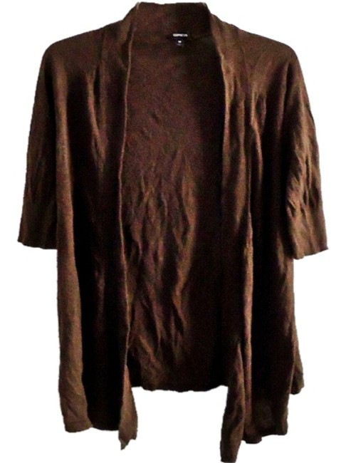 Preload https://item1.tradesy.com/images/express-brown-cardigan-size-8-m-4236940-0-0.jpg?width=400&height=650